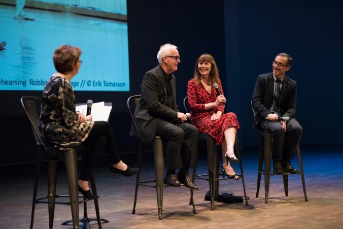 Celebrating Jerome Robbins talk at the Atrium Theater. (© Erik Tomasson)