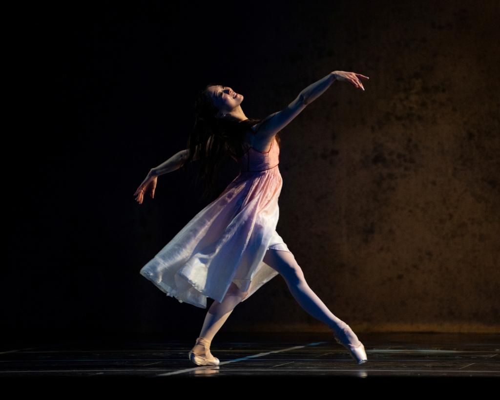 Misa Kuranaga in Tomasson's Romeo & Juliet // © Erik Tomasson