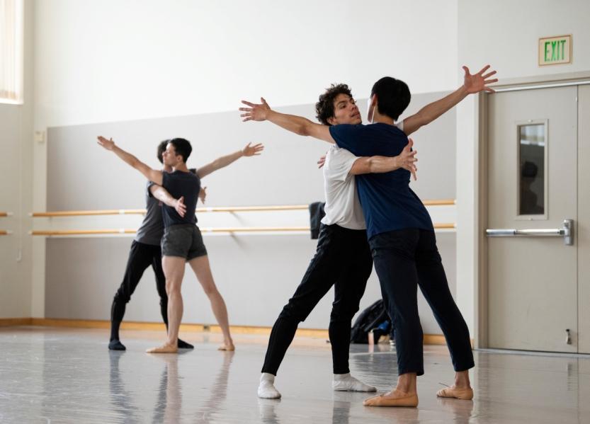 San Francisco Ballet rehearse McIntyre's The Big Hunger // © Erik Tomasson