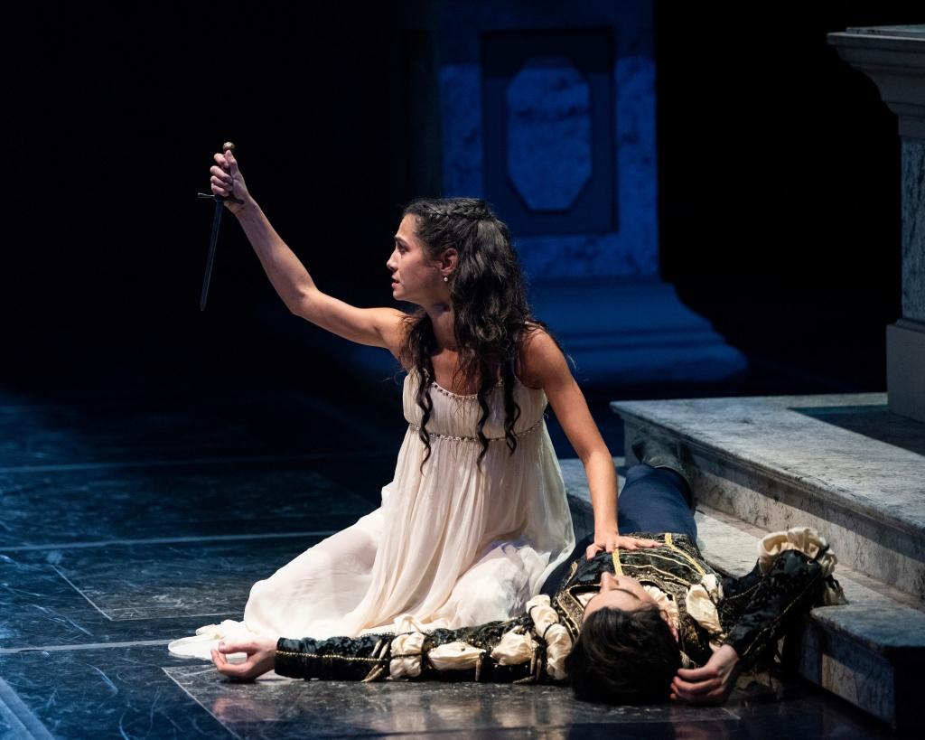 Mathilde Froustey and Joseph Walsh in Tomasson's Romeo & Juliet // © Erik Tomasson