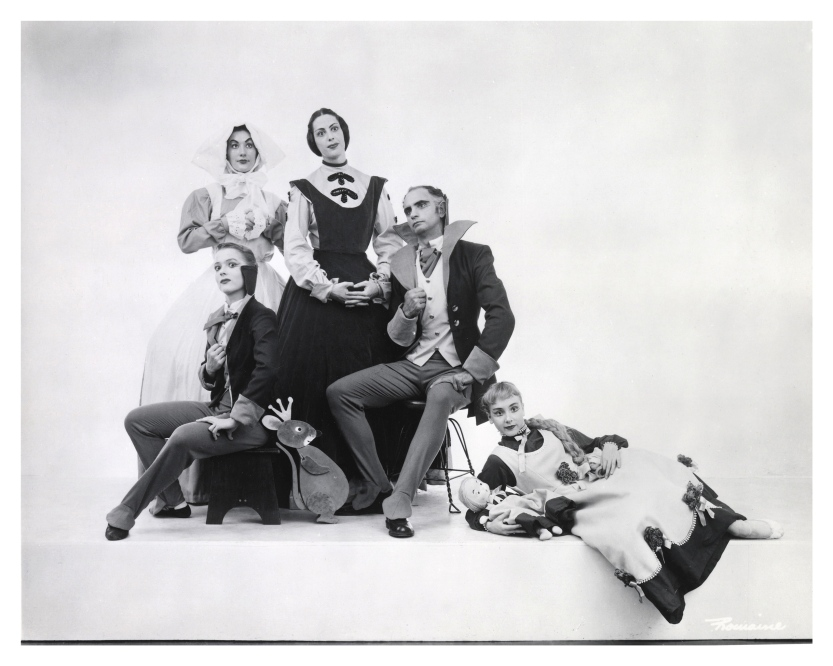 A group of dancers from Act I of Lew Christensen's 1954 Nutcracker. (© Romaine. Photo courtesy SFMPD.)