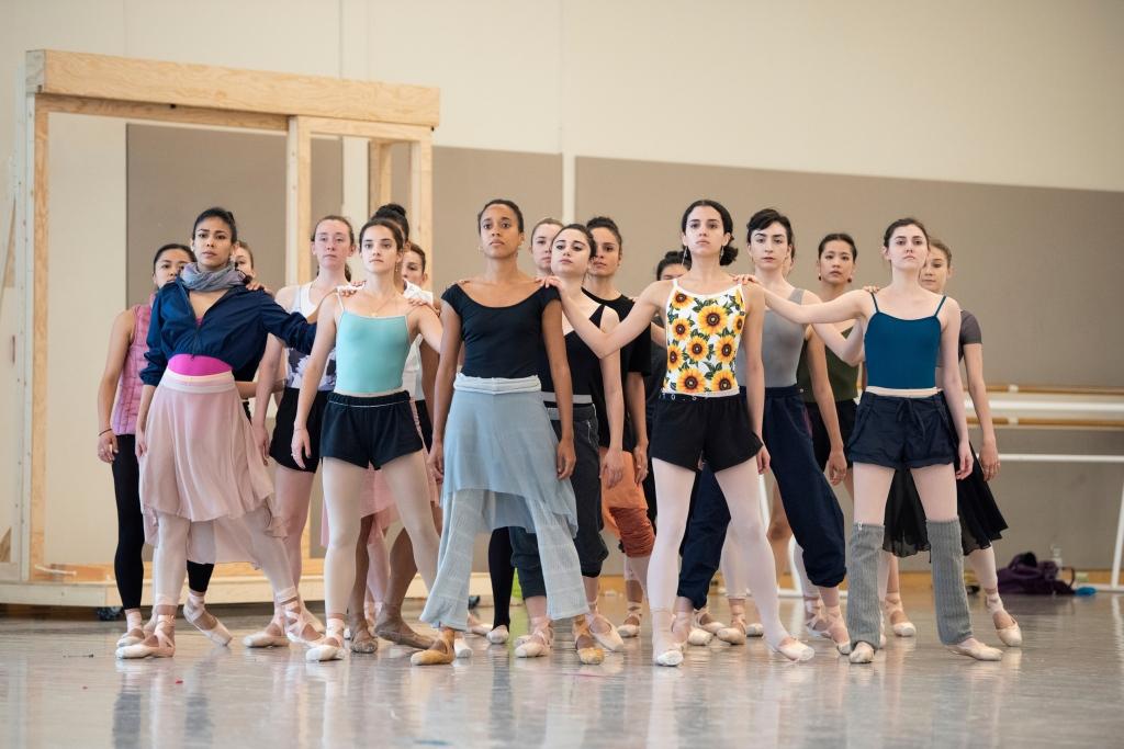 San Francisco Ballet rehearsing Cathy Marston's new work // © Erik Tomasson
