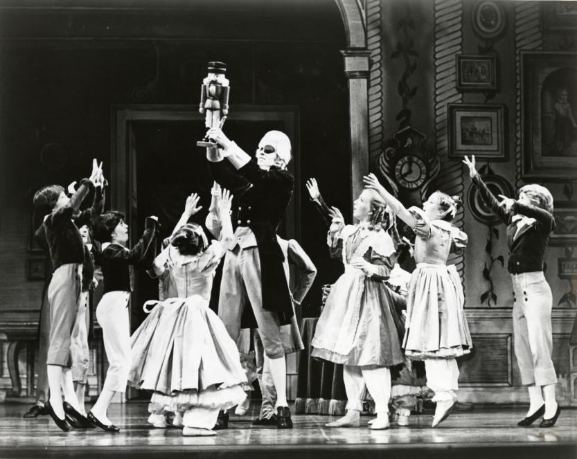 SF Ballet in Lew Christensen's Nutcracker (Photo courtesy SFMPD.)