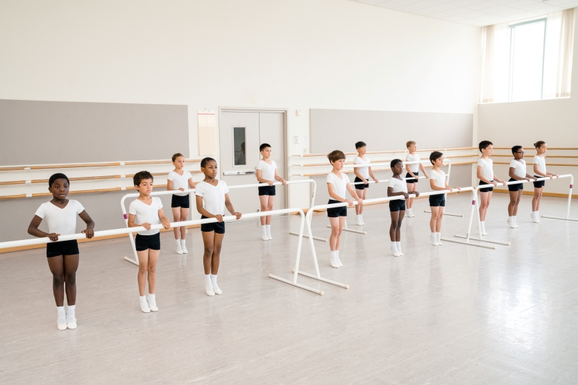 SF Ballet School Level 1 Boys // © Brandon Patoc