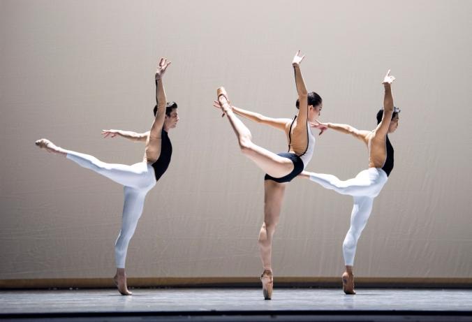 San Francisco Ballet in Dawson's Anima Animus //© Erik Tomasson